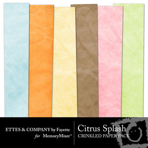 Citrussplashcrinkledpapers medium