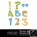 Monkey See Monkey Do Alphabet Pack-$1.99 (Carolyn Kite)