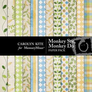 Monkey see monkey do pp medium