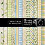 Monkey See Monkey Do Paper Pack-$3.99 (Carolyn Kite)