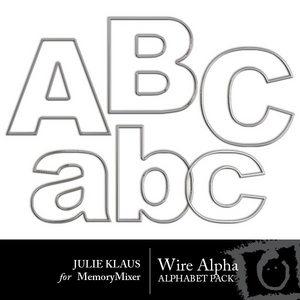 Wire alpha medium