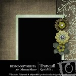 Tranquil QuickMix-$3.99 (Designs by Krista)