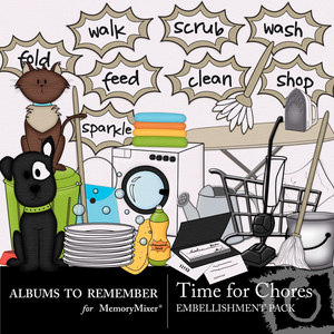 Time for chores emb medium