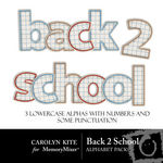 Back to School Alphabet Pack-$1.99 (Carolyn Kite)