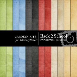 Back to school solid pp medium