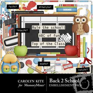 Back to school emb medium