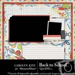 Back to School QuickMix-$3.99 (Carolyn Kite)