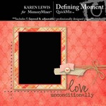 Defining Moment QuickMix-$3.99 (Karen Lewis)