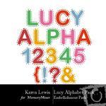 Lucy Alphabet Pack-$2.49 (Karen Lewis)