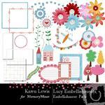 Lucy Embellishment Pack-$2.99 (Karen Lewis)