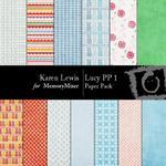 Lucy Paper Pack 1-$3.99 (Karen Lewis)