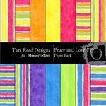 Peace and Love Paper Pack 1-$3.00 (Tara Reed Designs)
