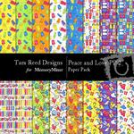 Peace and Love Paper Pack 2-$3.00 (Tara Reed Designs)