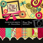 Fun Day Mini Pack-$4.00 (Designs by Krista)