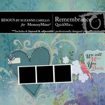 Remembrance QuickMix-$5.00 (Bisous By Suzanne Carillo)