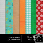 First Day Paper Pack-$3.49 (Amy Sumrall)