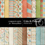 Cake and Presents Paper Pack 1-$3.99 (Carolyn Kite)