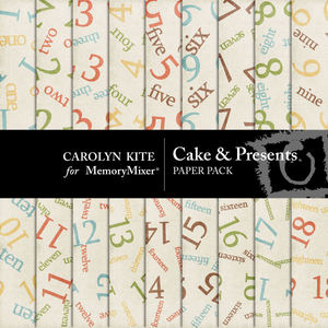 Cake and presents pp 2 medium