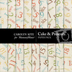 Cake and Presents Paper Pack 2-$3.99 (Carolyn Kite)