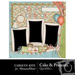 Cake and Presents QuickMix-$3.99 (Carolyn Kite)