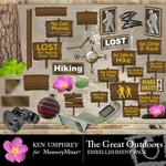 The Great Outdoors Embellishment Pack-$1.50 (Ken Umphrey)