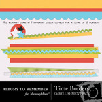 Time Borders Embellishment Pack-$2.00 (Albums to Remember)