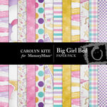 Big Girl Bed Paper Pack-$3.99 (Carolyn Kite)