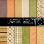 Season of Change Autumn Paper Pack-$3.99 (Karen Lewis)
