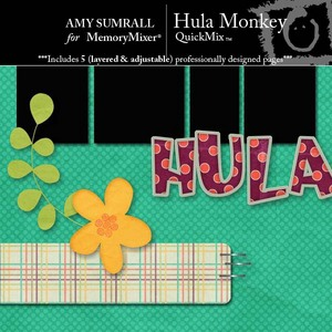 Hula monkey medium