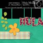 Hula monkey small