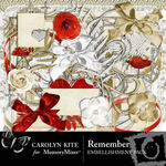Remember Embellishment Pack 1-$1.50 (Carolyn Kite)