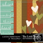 The Little Things September Mini Pack-$3.00 (Lasting Impressions)