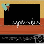 The Little Things September QuickMix-$3.00 (Lasting Impressions)