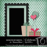 Celebrate QuickMix-$5.00 (Designs by Krista)
