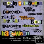 Halloween Magic WordArt Pack-$2.00 (Ettes and Company by Annette)