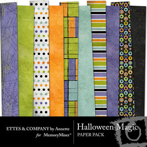 Ettescollagepaperpackhallowenmagic medium