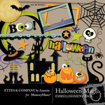 Halloween Magic Embellishment Pack-$3.00 (Ettes and Company by Annette)