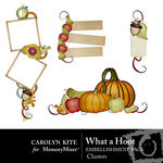 What a Hoot Cluster Pack-$2.49 (Carolyn Kite)