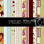 What a Hoot Paper Pack-$3.99 (Carolyn Kite)