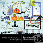 Spooktacular Ettes Embellishment Pack-$3.00 (Ettes and Company by Fayette)
