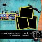 Spooktacular Ettes QuickMix-$3.50 (Fayette Designs)