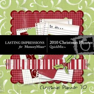 2010 christmas planner medium
