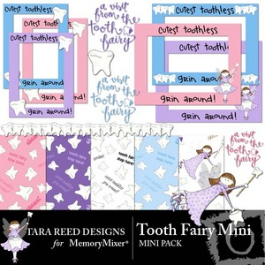 Tooth fairy mini medium