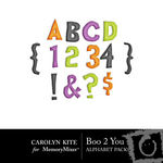Boo 2 You Alphabet Pack-$3.49 (Carolyn Kite)