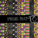 Boo 2 You Paper Pack 1-$1.80 (Carolyn Kite)