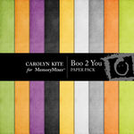 Boo 2 You Paper Pack 3-$2.99 (Carolyn Kite)