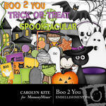 Boo 2 You Embellishment Pack-$2.99 (Carolyn Kite)