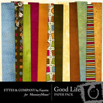 Good Life Paper Pack-$4.00 (Ettes and Company by Fayette)