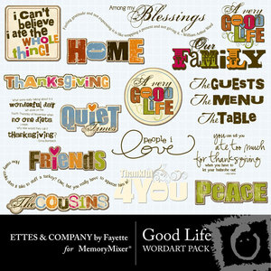 Goodlifewordart medium