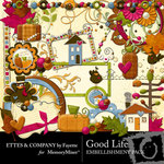 Good Life Embellishment Pack-$3.00 (Ettes and Company by Fayette)